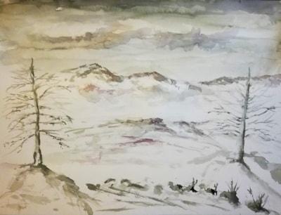 inverno monocromo
