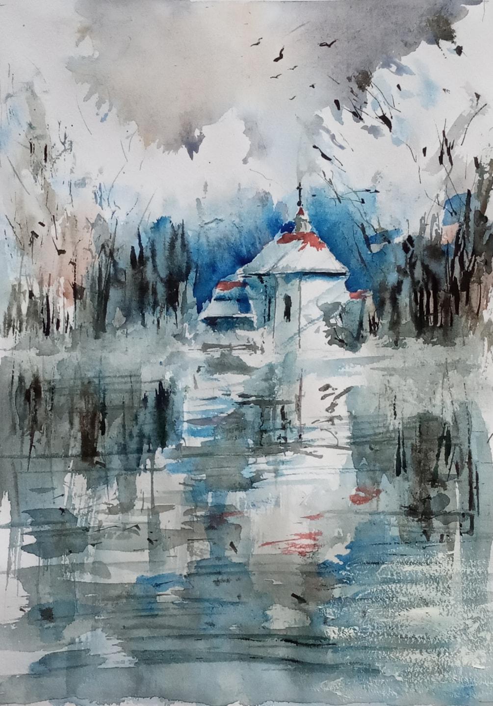 kaplica św Anny w zimnie