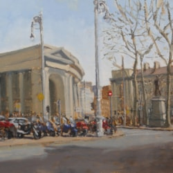 late spring college green 52cm x 26.5cm