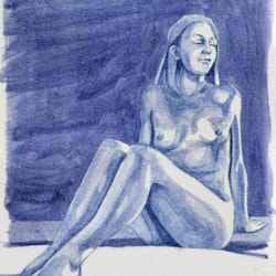 life drawing female figure