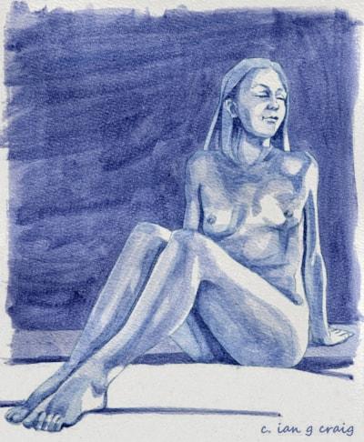 life drawing female figure