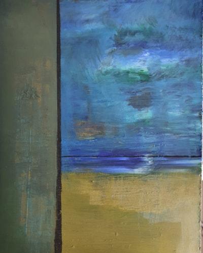 moonlight, receding tide