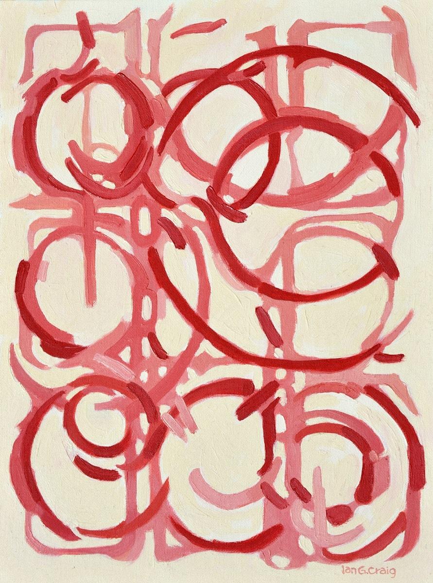 nine red circles