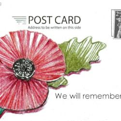 poppy day postcard