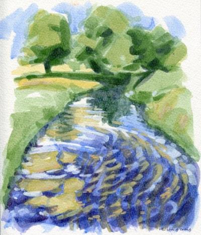 river meden rushes