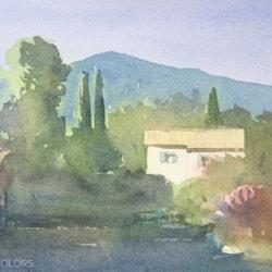 small Domaine de Peyrebelle, Valbonne, French Riviera, Provence. 2021