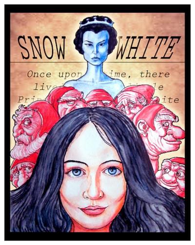 snow-white small