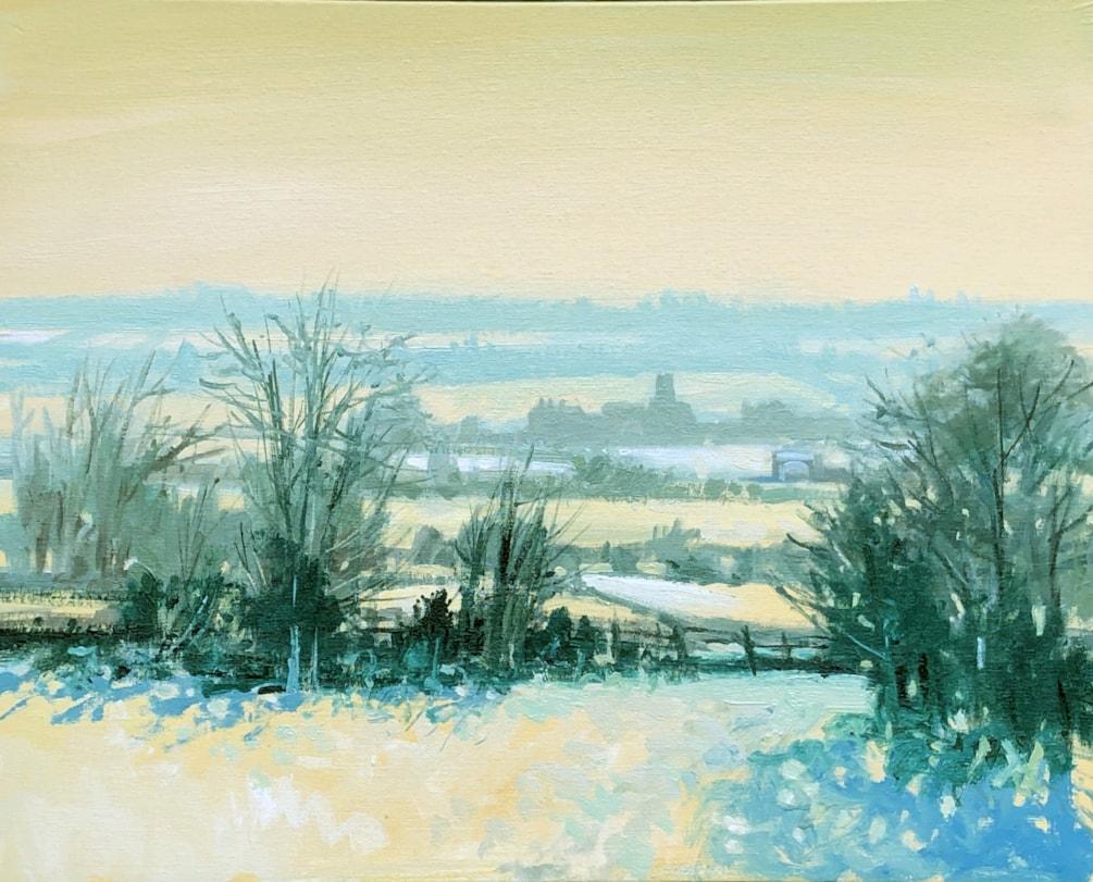 snow landscape ps