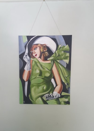 tamara green dress