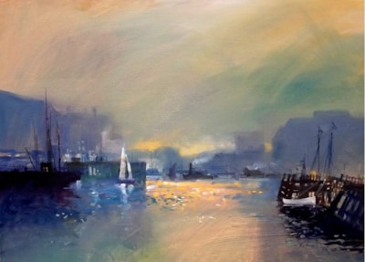 the harbour first light