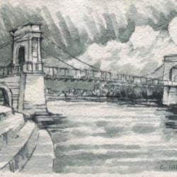 wilford suspension bridge Nottingham