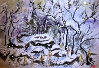 winter in the dell