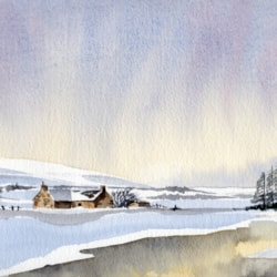 winter scene 2022