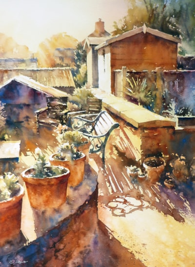 Autumn sunshine, Jenny's Garden
