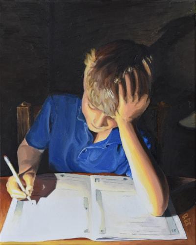 Billy Homework Flat