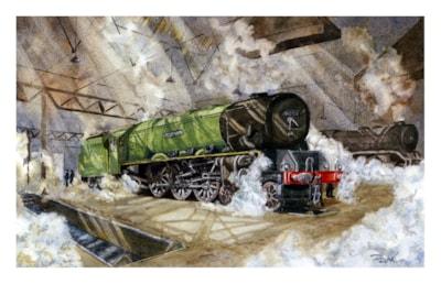 Coronation Class Train Composite-art competition2020