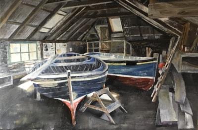 Grimsay Boatshed 2