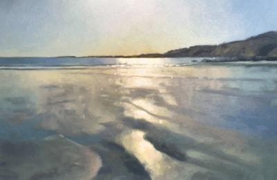 Spring Tide, Pendower_86 x 60cm_OIL_small