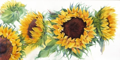 Sunflowers-They make me happy