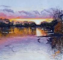 Sunset, Upper Lake