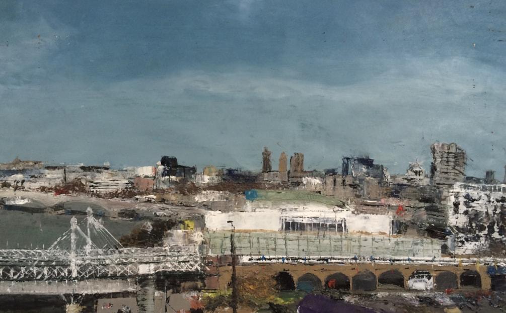 View from the London Eye, Kieran Luke Naish