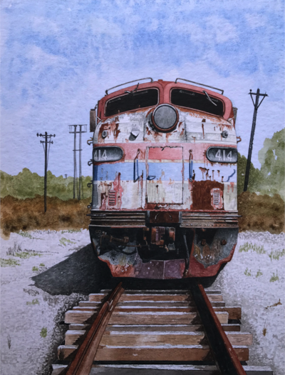 amtrak emd 9a paintersonline entry