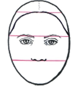 Draw a basic nose - Step 4