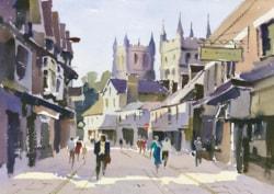 Painting Wimborne Minster