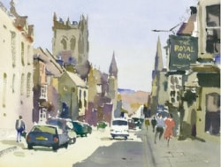 Painting of Dorchester