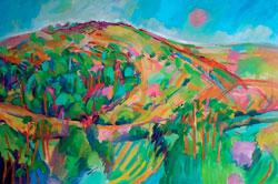 Melbury Delight, oil on canvas, 80x120cm