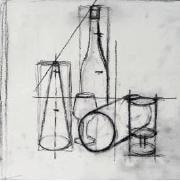 How to sketch a still life - stage 1