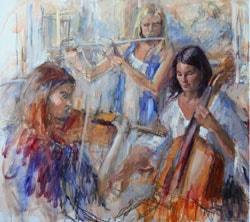 Paint musicians