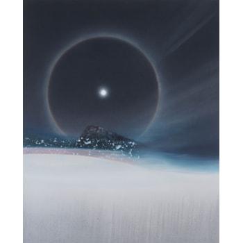 A Cold Beauty, Lunar Halo, 2018(1)