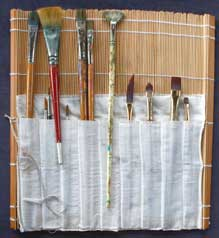 Types of brushes for acrylic painting
