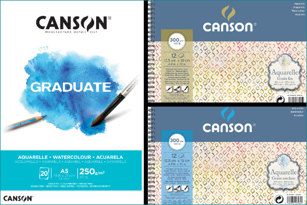Canson watercolour paper