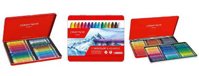 Caran d'Ache Neocolor II wax pastels