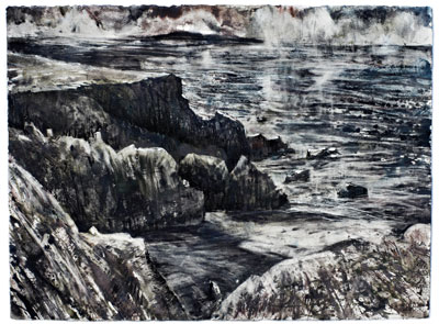 Derwent tinted charcoal paint full painting