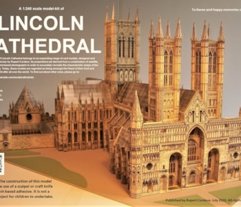 Lincoln Cathedral Title Page. Version 2.