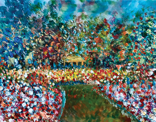 Acrylic painting technique