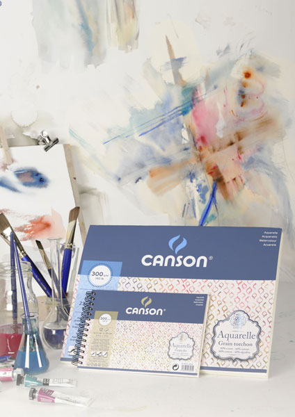 Canson Aquarelle watercolour paper