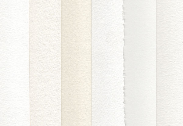 Types of watercolour paper