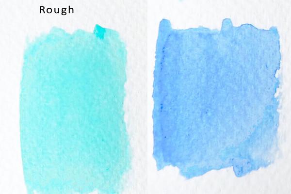 Rough watercolour paper