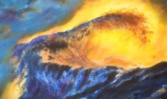Sunset Storm Surge Aug 2019 Sold £290 to AS
