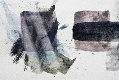 Derwent tinted charcoal paint swatch
