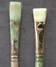 Acrylic brush sizes