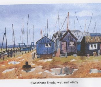 b shore sheds wet windy