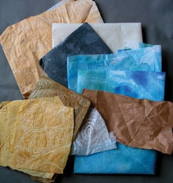 Make your own collage papers