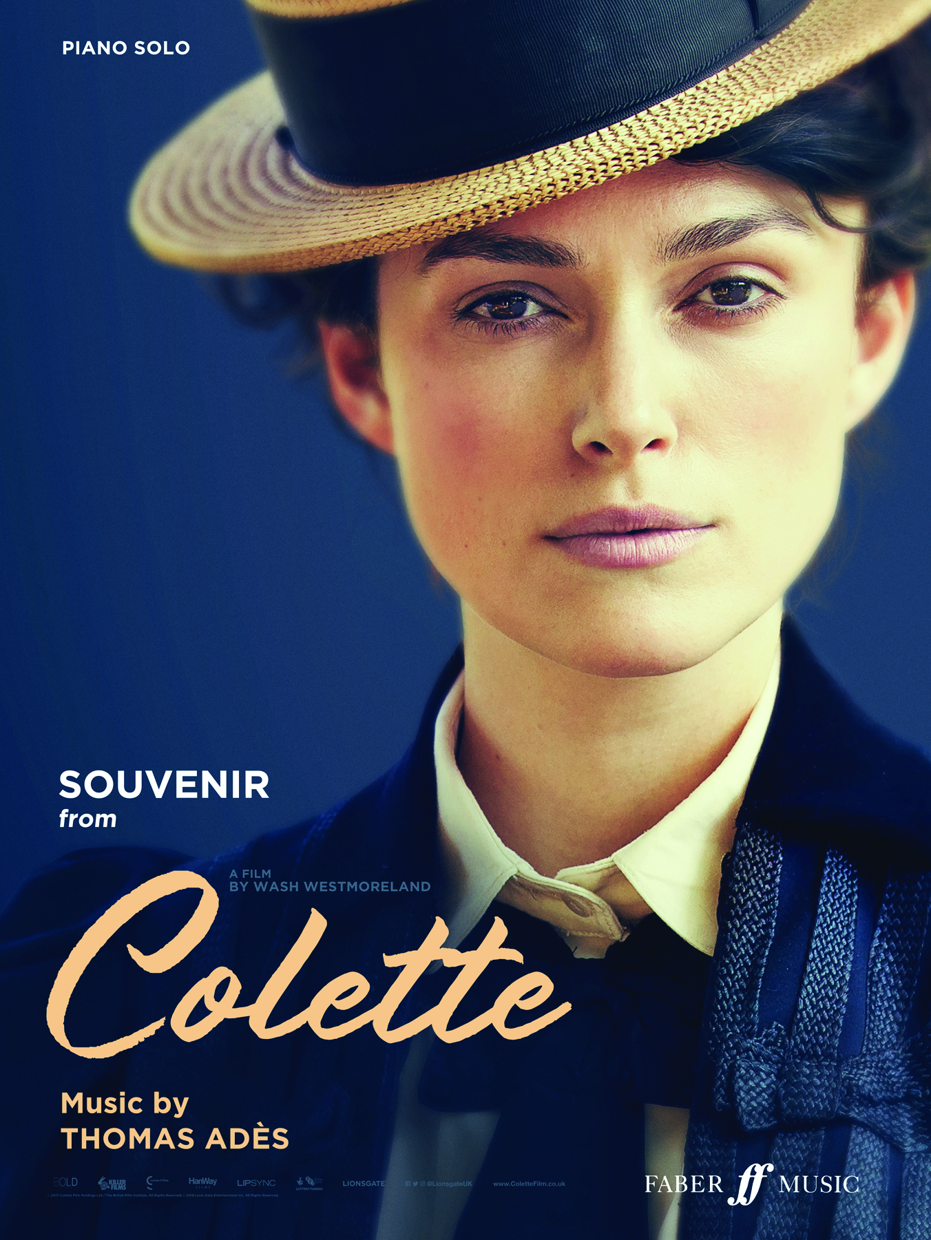Free Gift: Souvenir (from Colette) Piano Book
