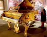 Royal Family's Golden Piano