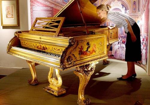 Royal Family's Golden Piano